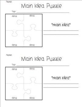 Main Idea Details Graphic Organizers Reading Classroom Teaching Reading Graphic Organizers