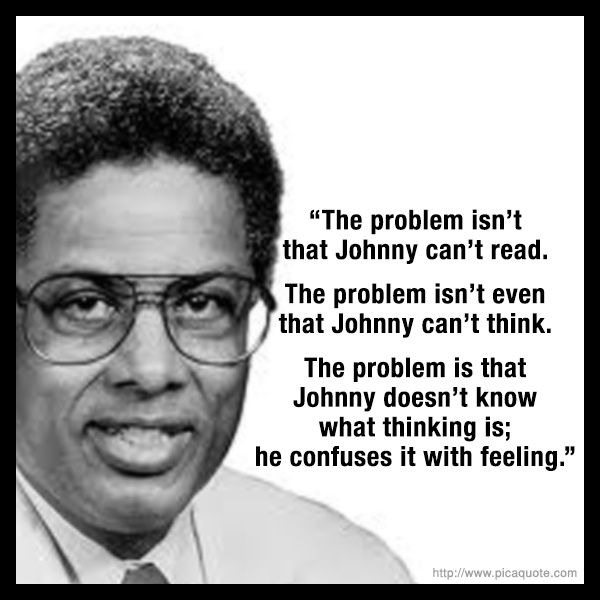 14 Thomas Sowell quotes that absolutely destroy the false claims of