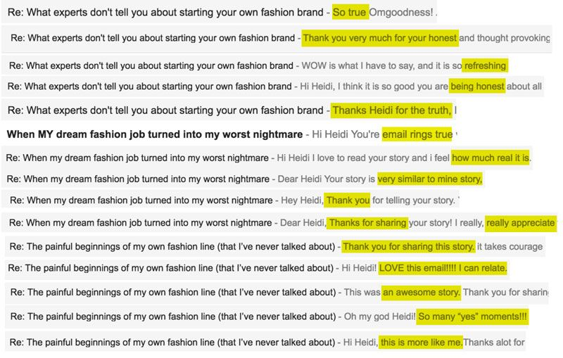 Our Similar Fashion Career Journeys (You\u0027re Not Alone)  Courses - examples of successful resumes