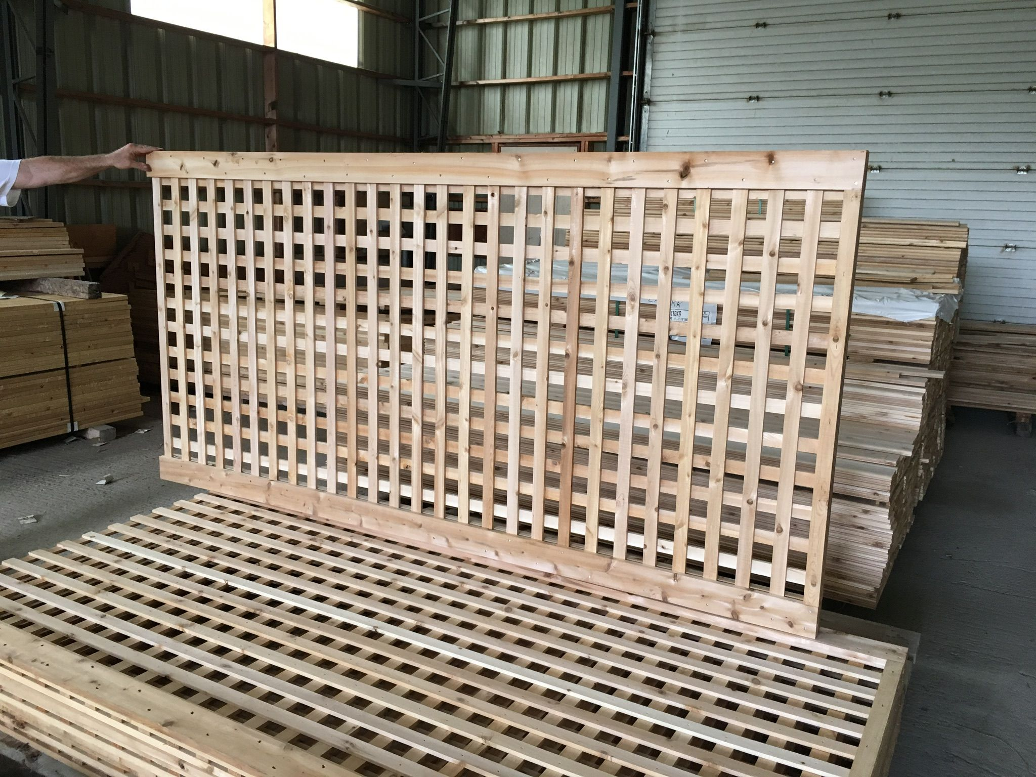 Trellis panels made to measure from eastern white cedar only at trellis panels made to measure from eastern white cedar only at lanark cedar baanklon Images