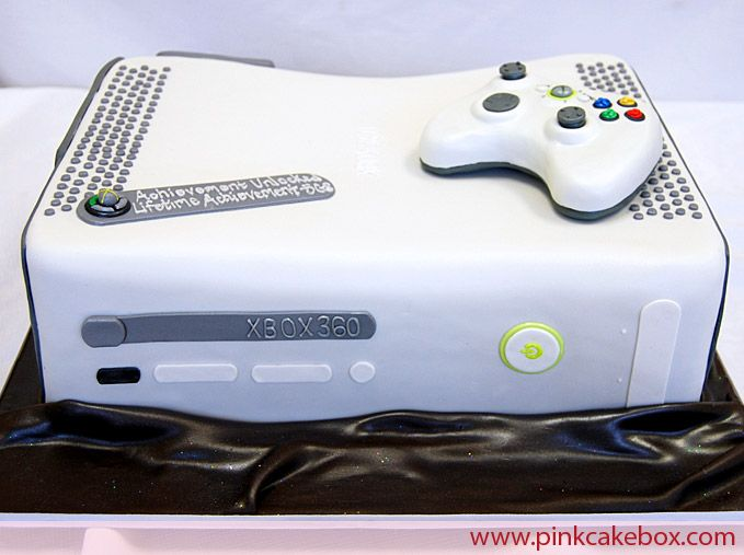 Can I Make An X Box Cake We Will See Video Game Cakes Grooms Cake Themed Birthday Cakes