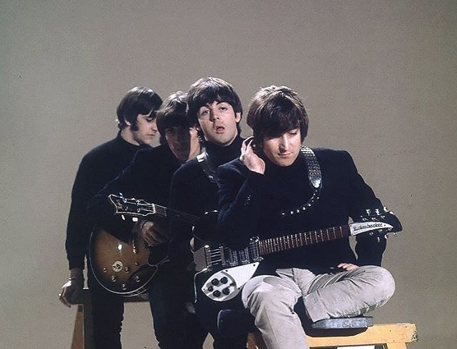 The Beatles, 'Help!' promo video, 1965. #thebeatles