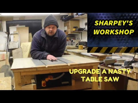 (35) TABLE SAW UPGRADE /STATION (PART 1) YouTube in 2020