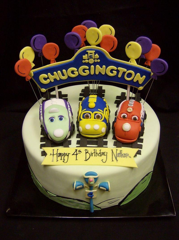 Chuggington. So cute. | Birthday Ideas - Turning 5 | Pinterest
