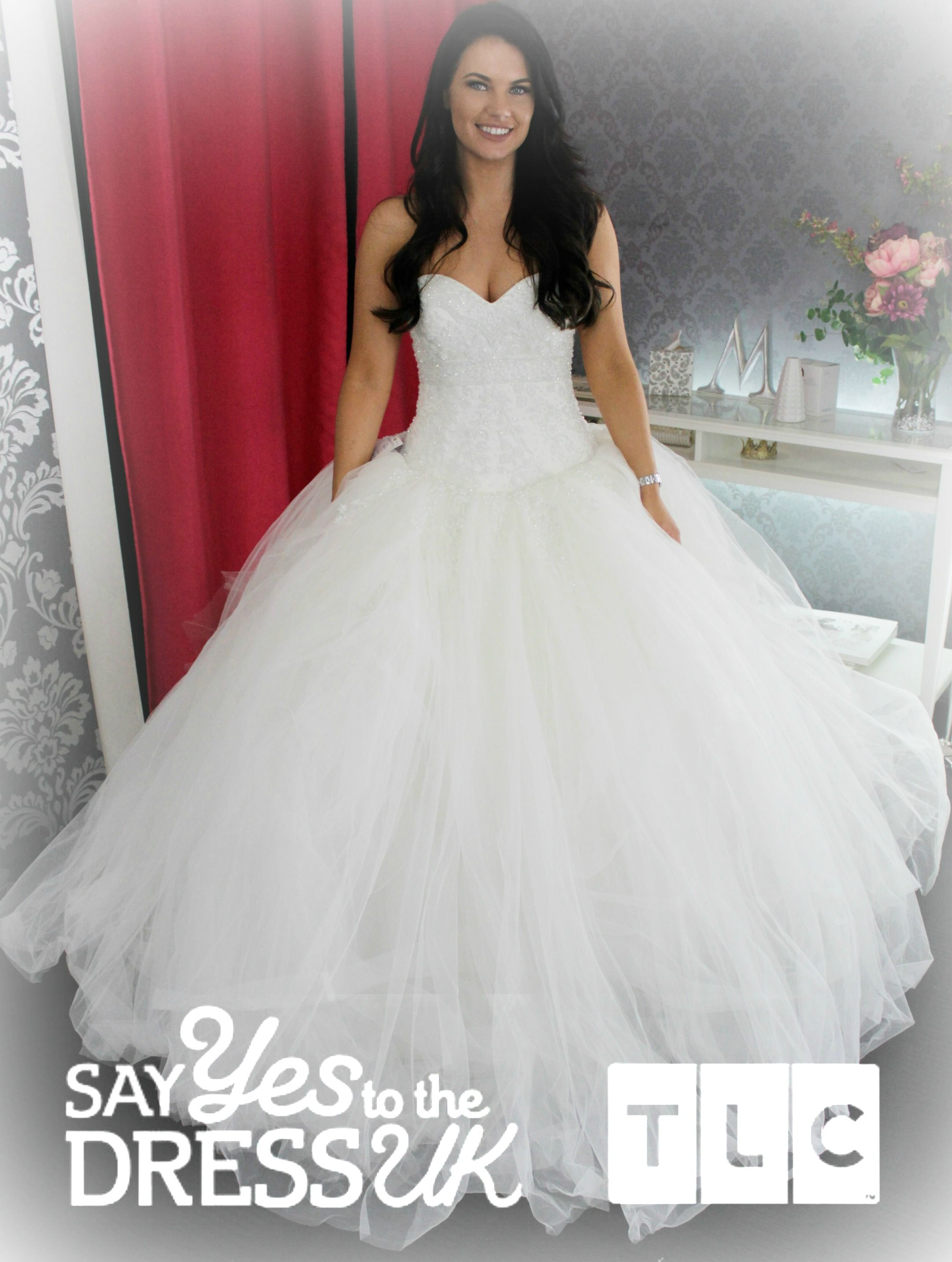 What a princess! \'Like\' if you\'d say Yes to this dress! Say Yes To ...