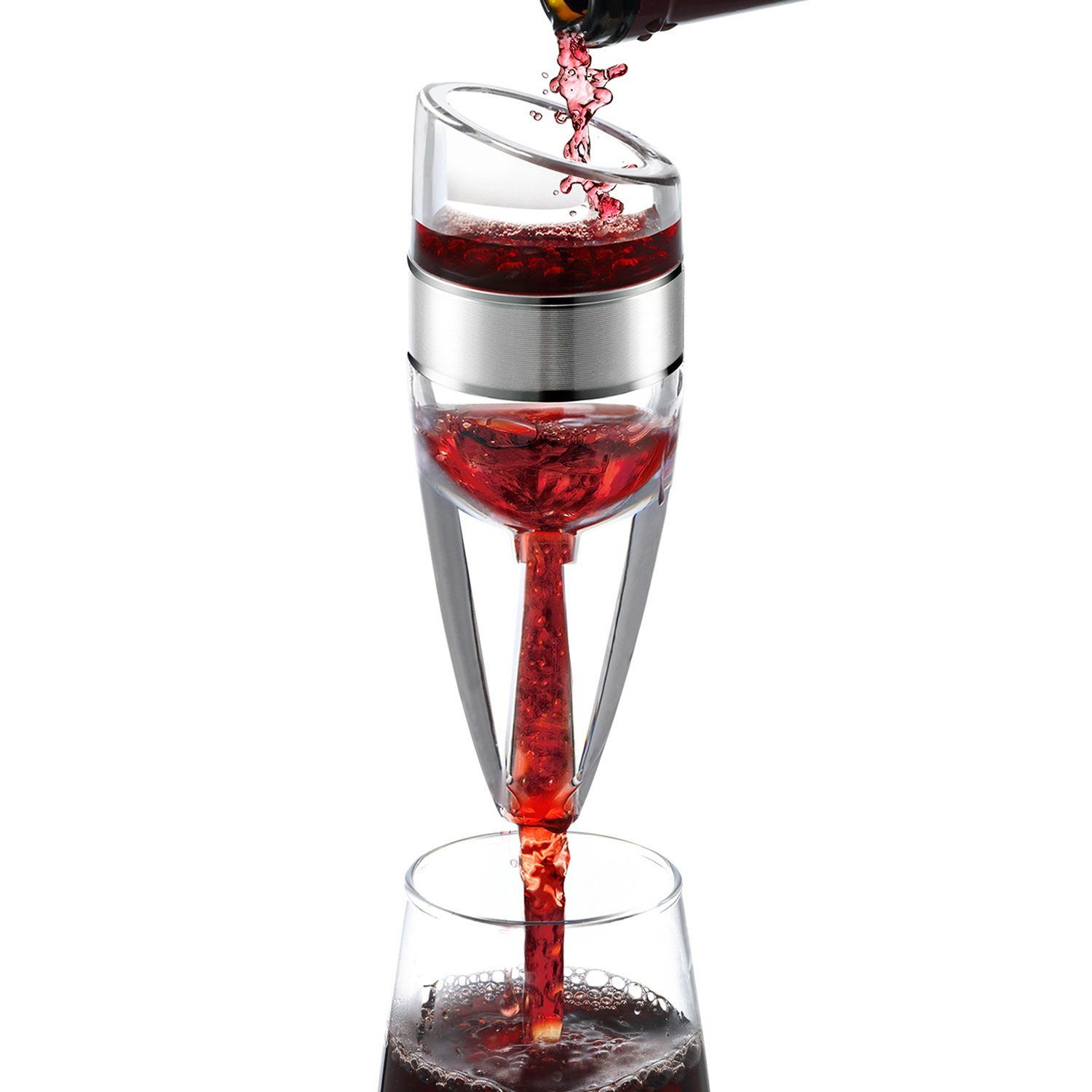 Slpstroe Intl Wine Aerator Diffuser Pourer Decanter Includes Base To View Further For This Item Visit The Image Link This Is A Wine Aerators Wine Aerator