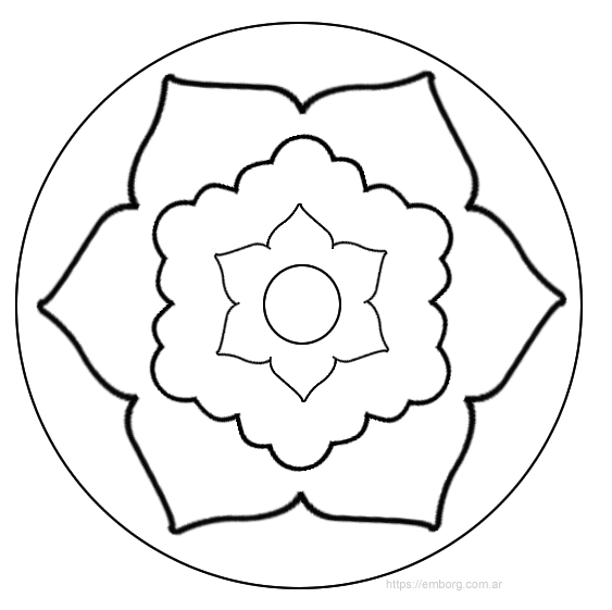 10 Mandalas Faciles Celina Emborg Mandalas Faciles Mandalas Faciles De Dibujar Mandalas Para Ninos
