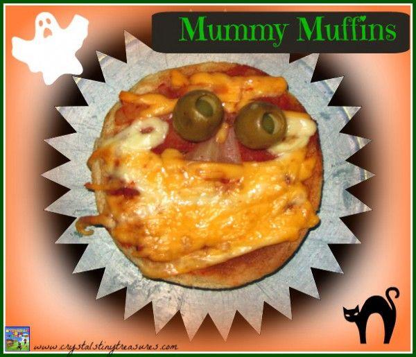 Halloween Party Food - Mummy Muffins Halloween parties - halloween party ideas for kids food
