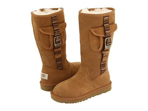 Super cute boots I want to buy for Abby! -UGG Kids Retro Cargo (