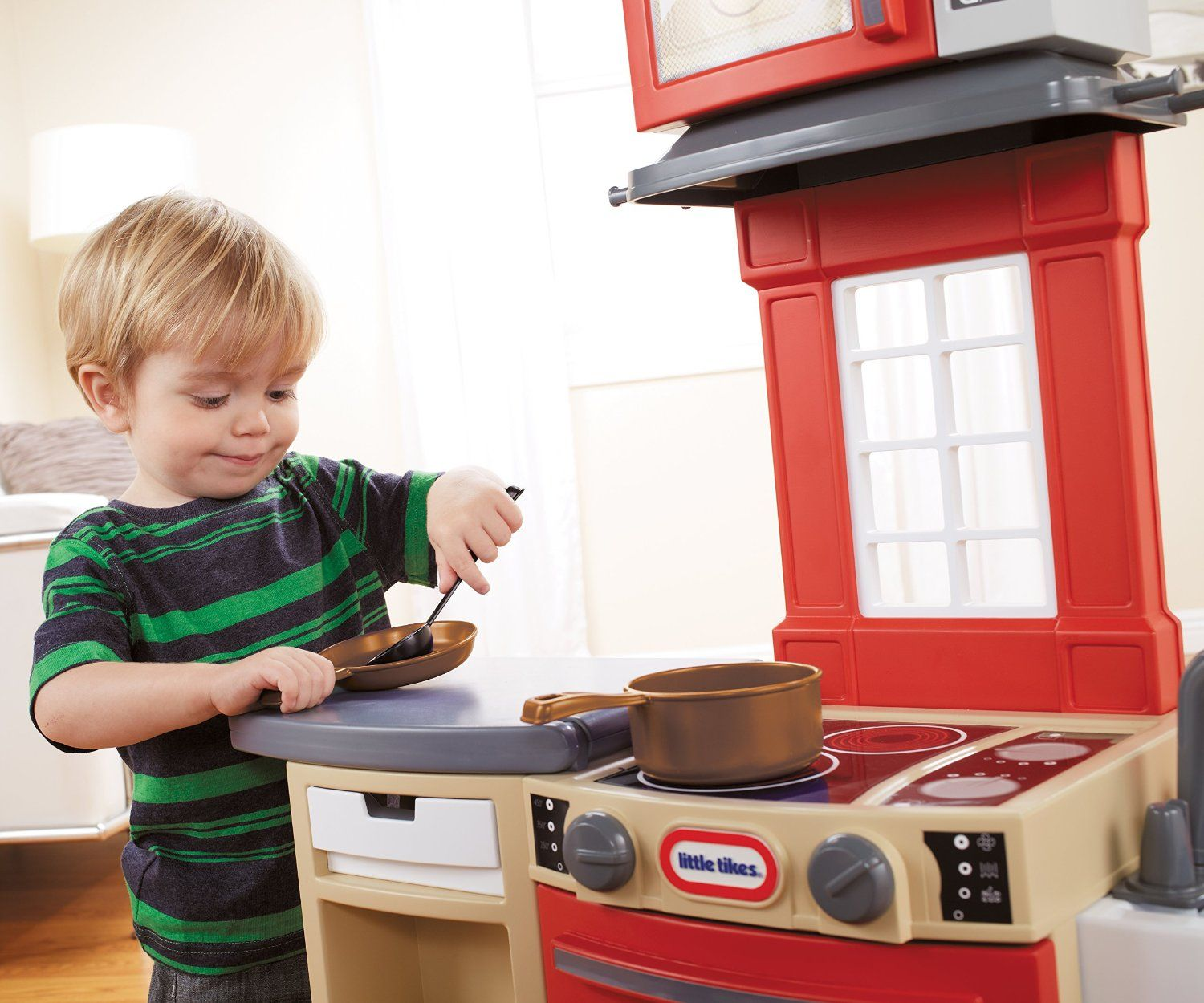 Little Tikes Cook \'n Store Kitchen Playset #Compact, #Cook ...