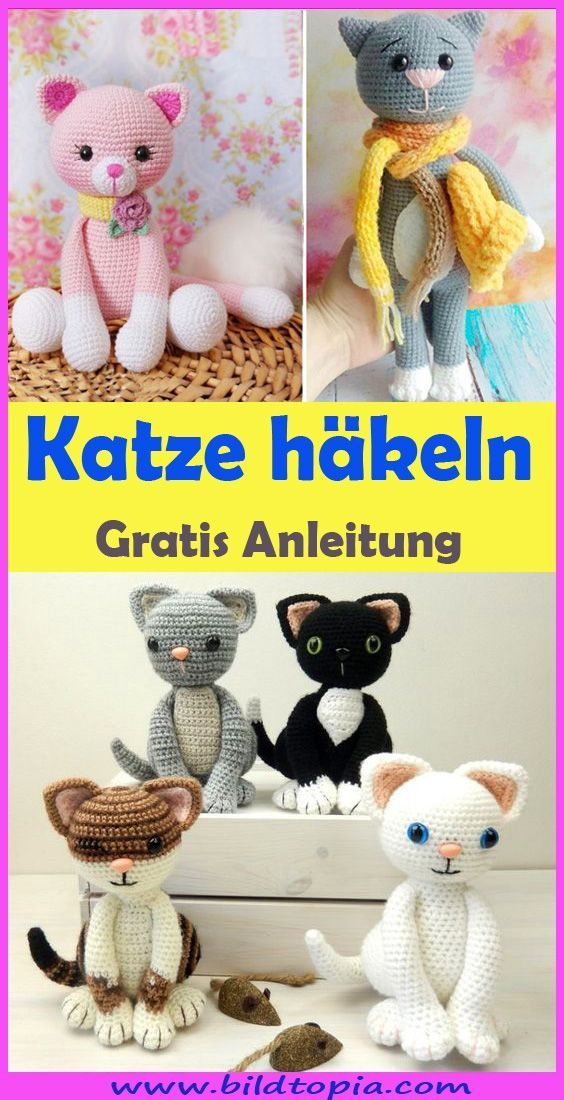 Photo of Häkeln Sie Amigurumi Cat – Free & Easy Instruction – Kleiner Balkon Ideen