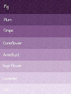 Cool Purple Color Palette Google Search