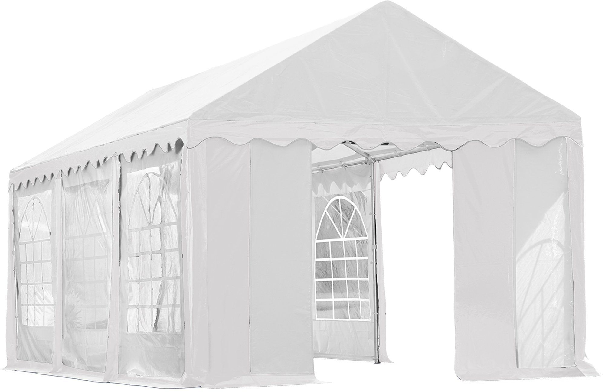 ShelterLogic Party Tent with Enclosure Kit White 10 x 20