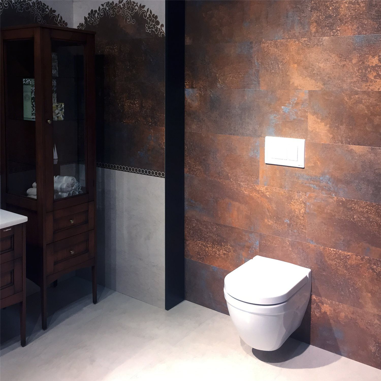 Bodenfliesen Methome Metalloptik Lappato Badezimmer Pinterest - Fliesen fugenlos verlegen fußbodenheizung