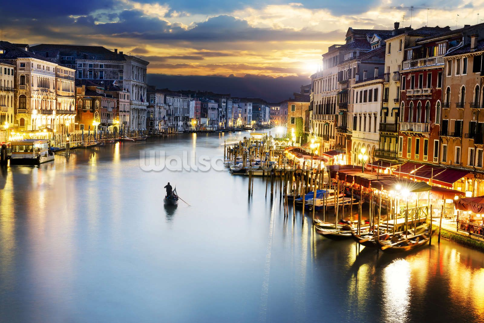 Grand Canal at Night, Venice Places worth visiting