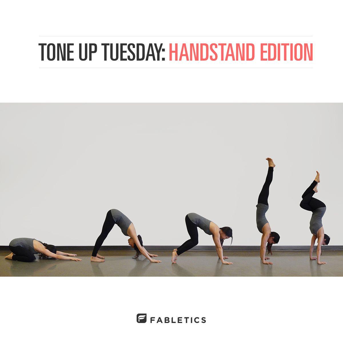Tone up Tuesday Handstand Edition Yoga posses, Yoga