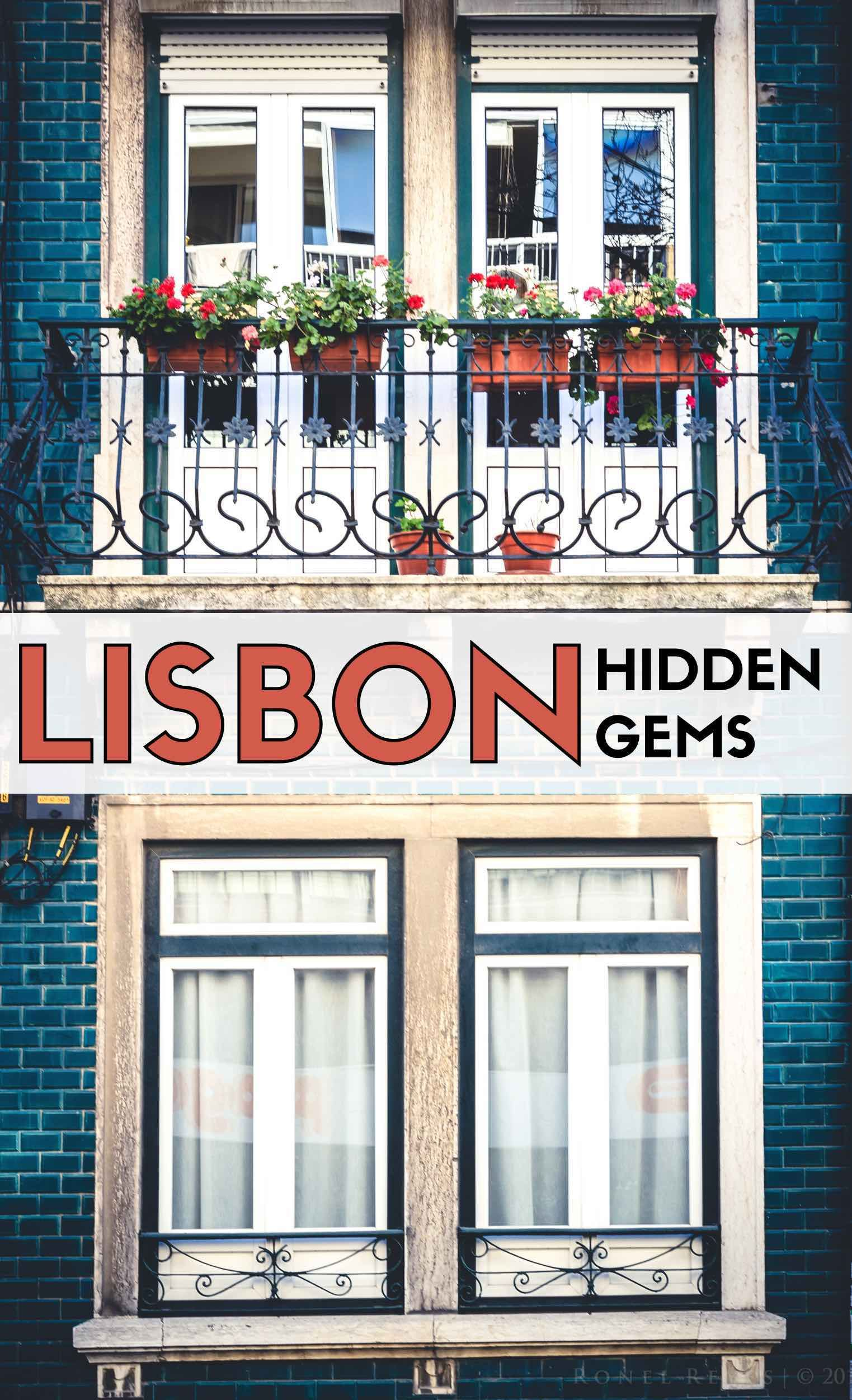 Tired of tourists? Here's some places in beautiful Lisbon where there will be less of them. #Portugal #Lisbon #Lisboa #lisbon