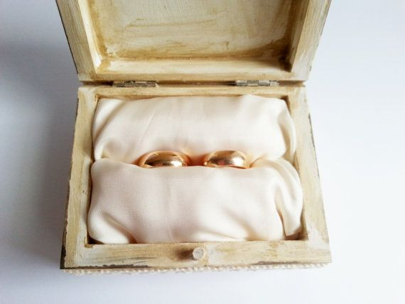 Wedding rings box/engagement ring box wedding by MKedraHandmade