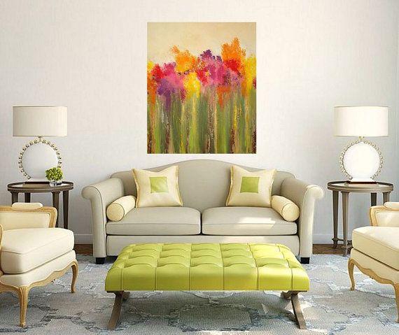 Garten Kunst und Sammlerstücke Malerei Malerei von OraBirenbaumArt