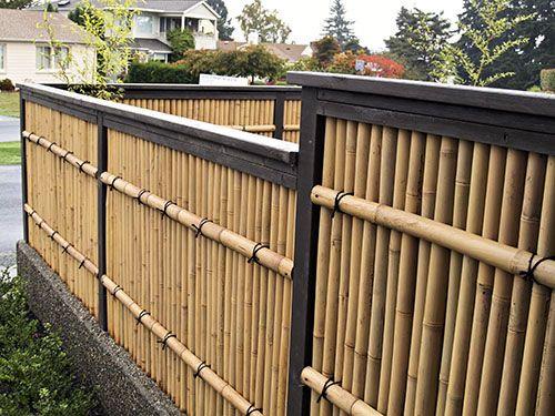 Zen Japanese Wood U0026 Bamboo Garden Gallery  Wooden Gates   Bamboo Fences