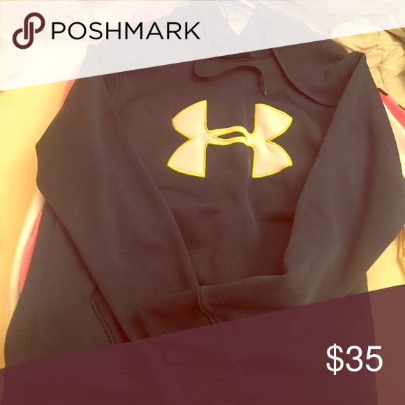 Hoodie! UA Never worn! Fits as seen on model. Under Armour Sweaters