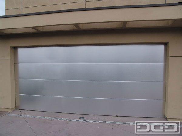 Contemporary Stainless Steel Garage Doors Garage Door Stainless