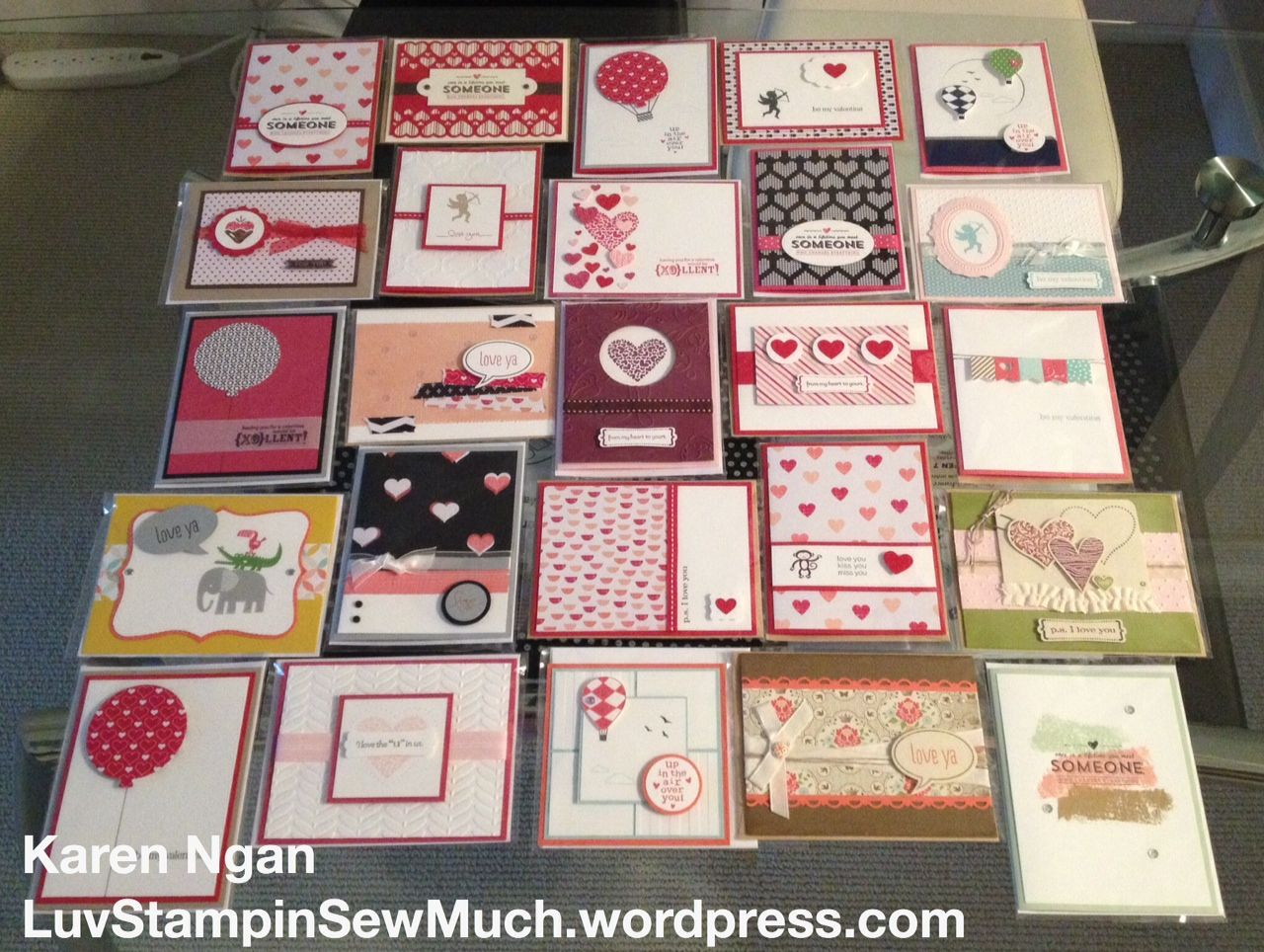 Valentines bulk order 25 Valentines cards – Bulk Valentine Cards