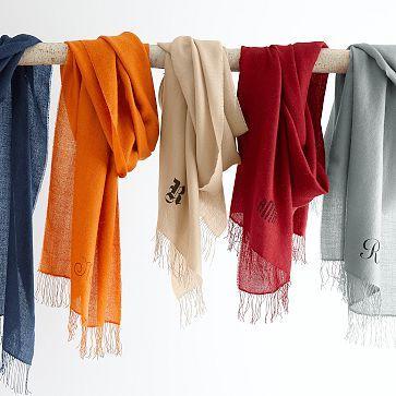 I love the Alpaca/Silk Scarf on markandgraham.com