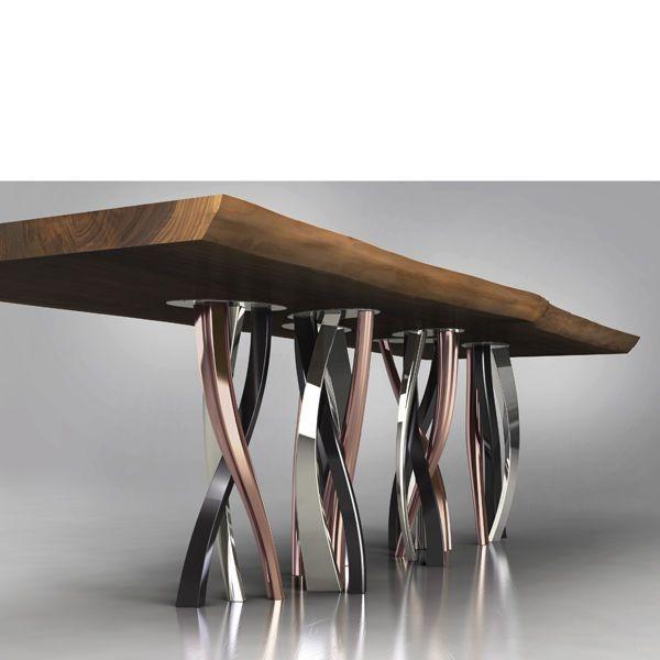 tavolo legno design - Cerca con Google | Cose di casa | Pinterest ...