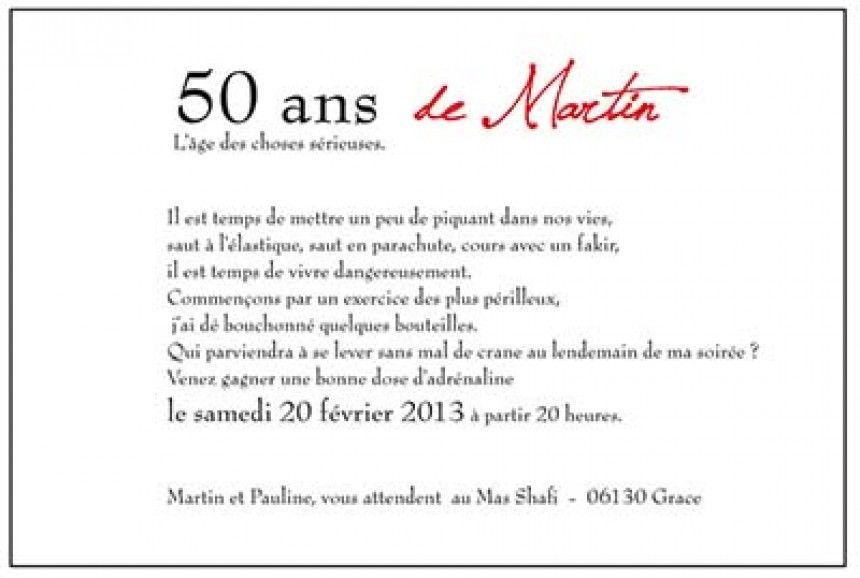 carte d invitation anniversaire 50 ans humoristique Texte D Invitation D Anniversaire Humoristique Inspirational Texte