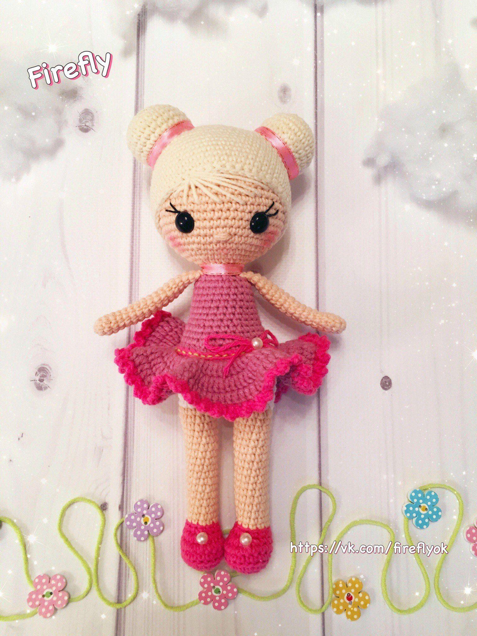 Куколка Хлоя амигуруми. Схемы и описания для вязания ...