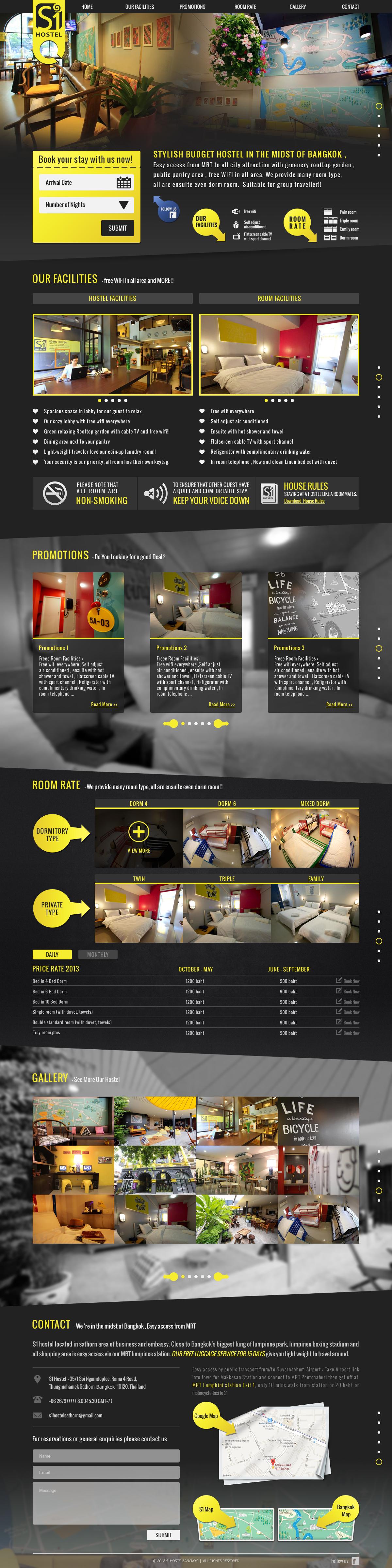 Hostel Website Web Development Design Web Inspiration Web Design