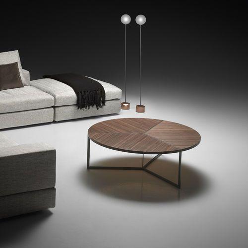 couchtisch modern gestrichenes metall nussbaum bailey pinton sas m bel couchtisch. Black Bedroom Furniture Sets. Home Design Ideas