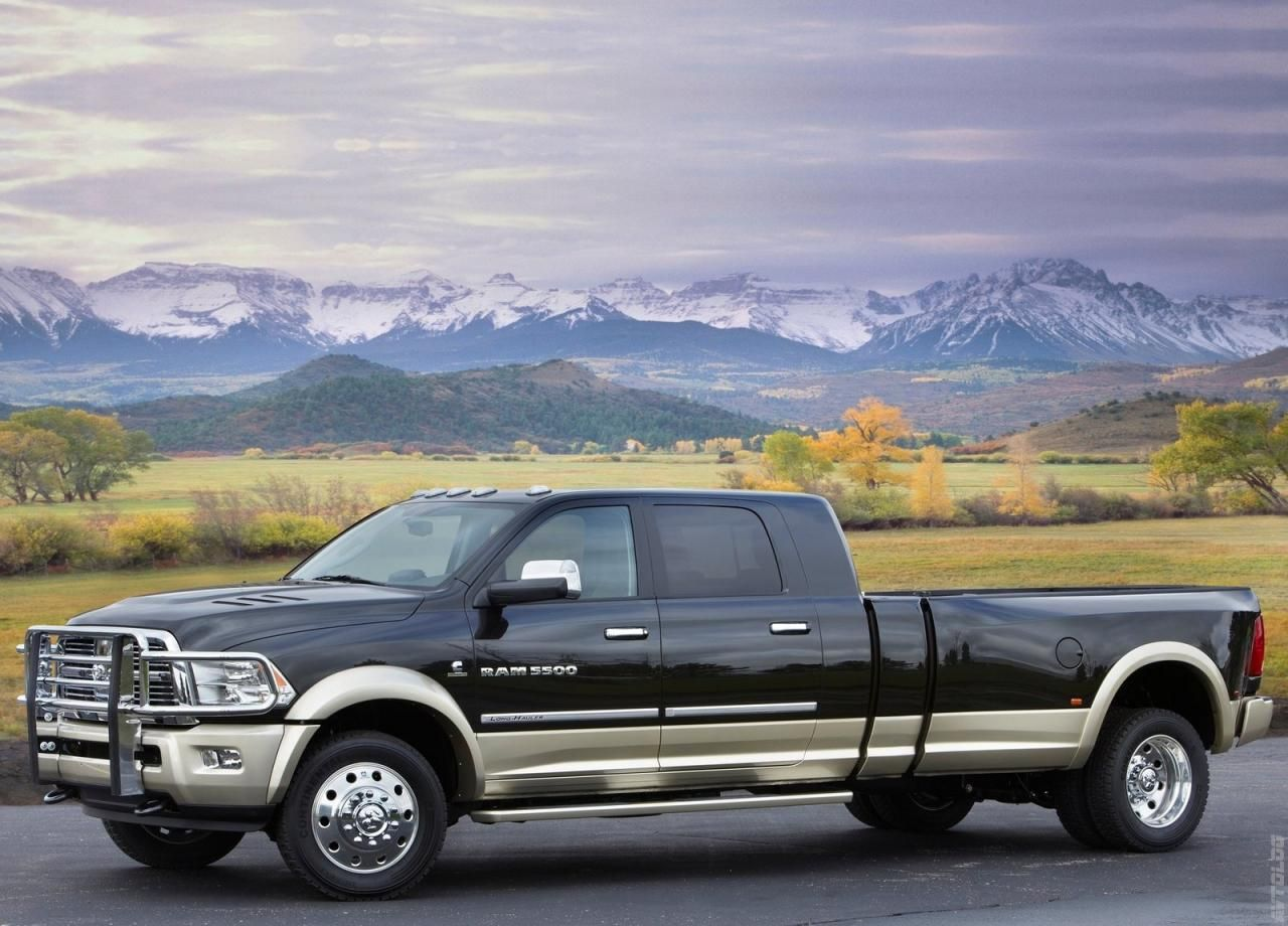They don t get much bigger have more range or more pulling power than the ram long hauler concept truck the press release starts