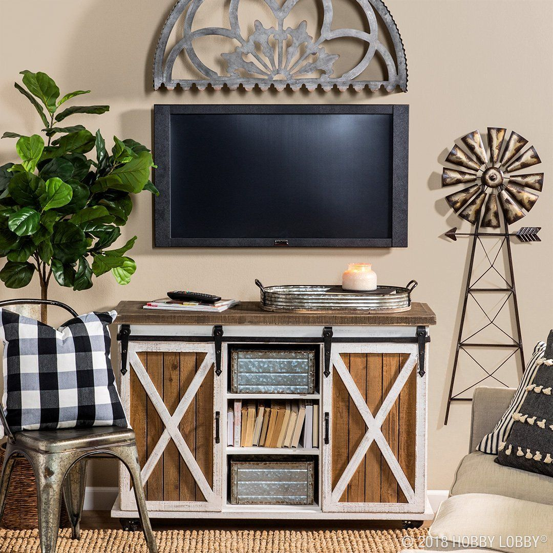 Give Your Entertainment Center An Unexpected Update With Trendy