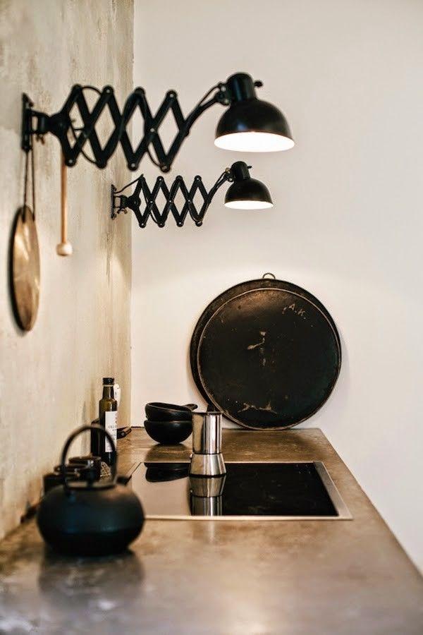 Ideas de iluminaci n flexos sobre la encimera de la for Ideas iluminacion cocinas