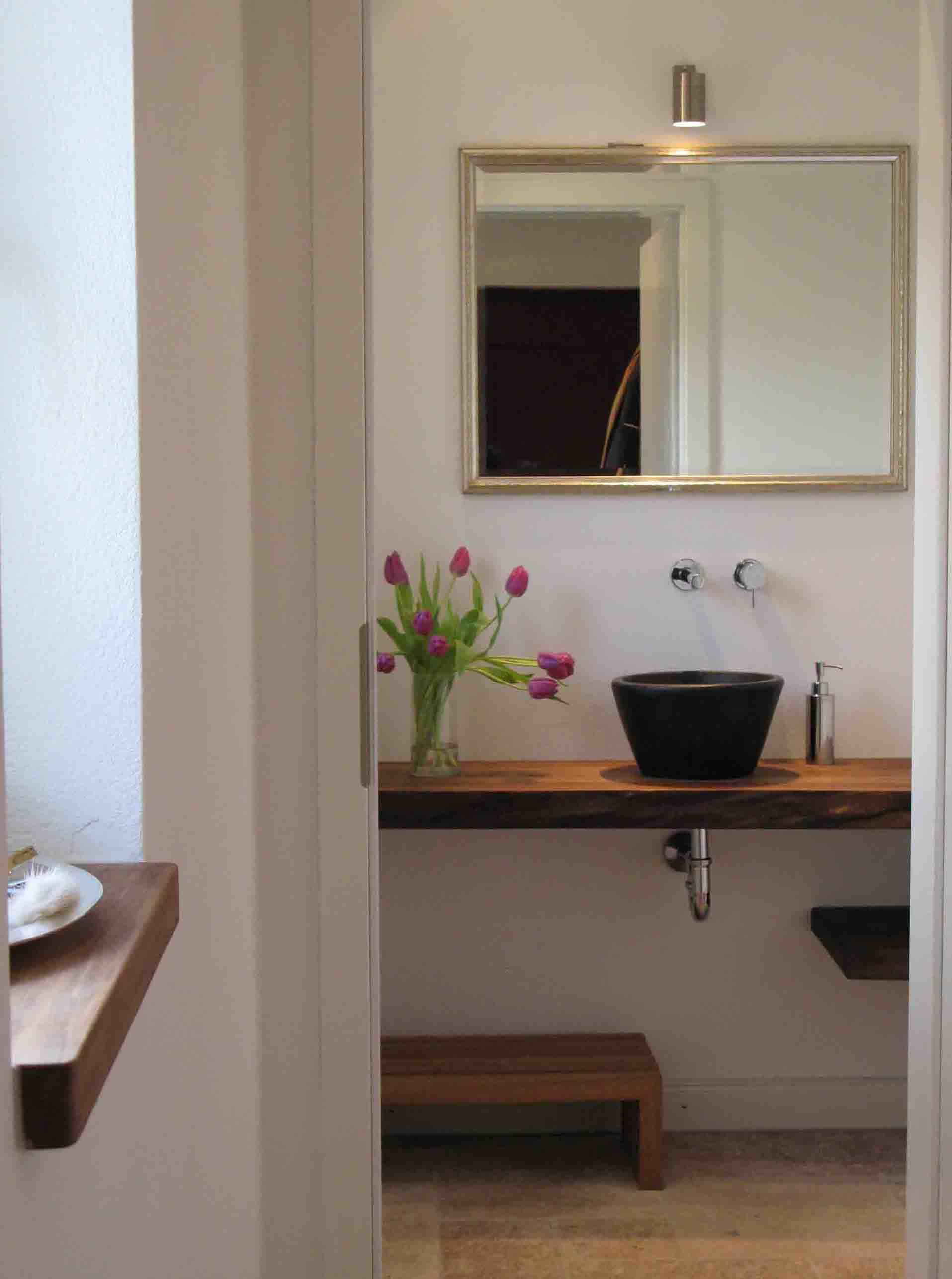 Gästewc alternative waschtischkonsole konsolenträger bad waschtisch