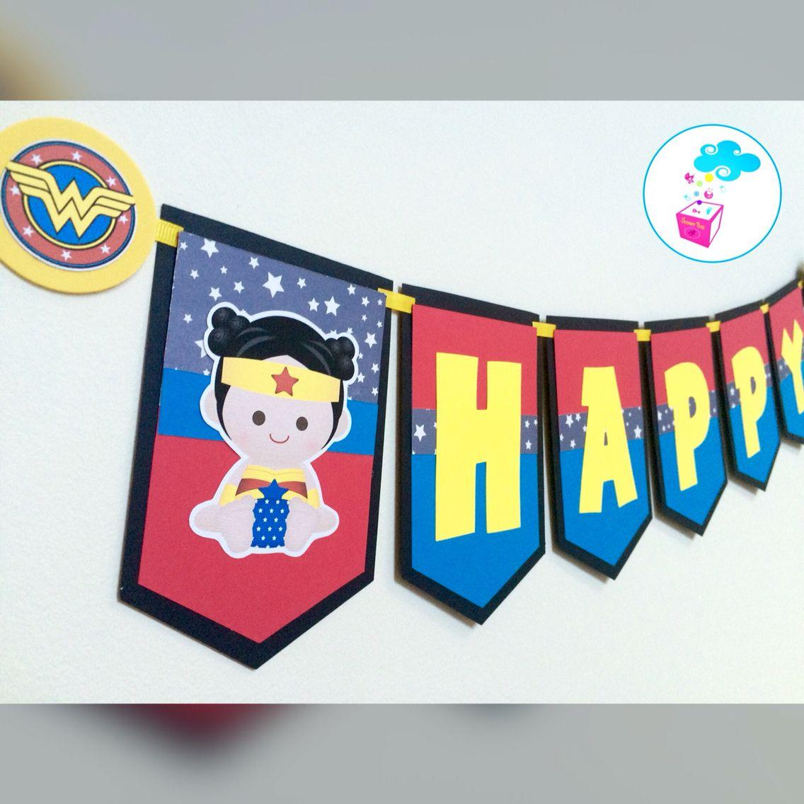 Baby superheroes banner Showerbox Desing www.myshowerbox.com Like us on FB