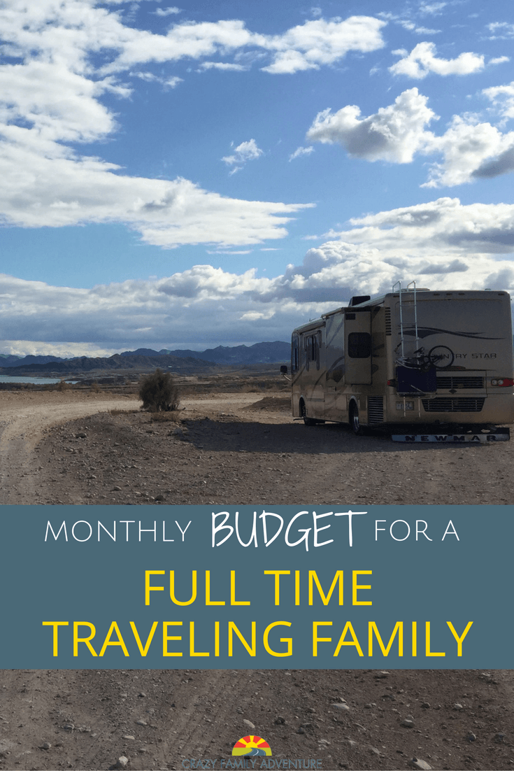 Full Time Family Travel Budget For A Family Of 6 Plus 2 Dogs – October 2016