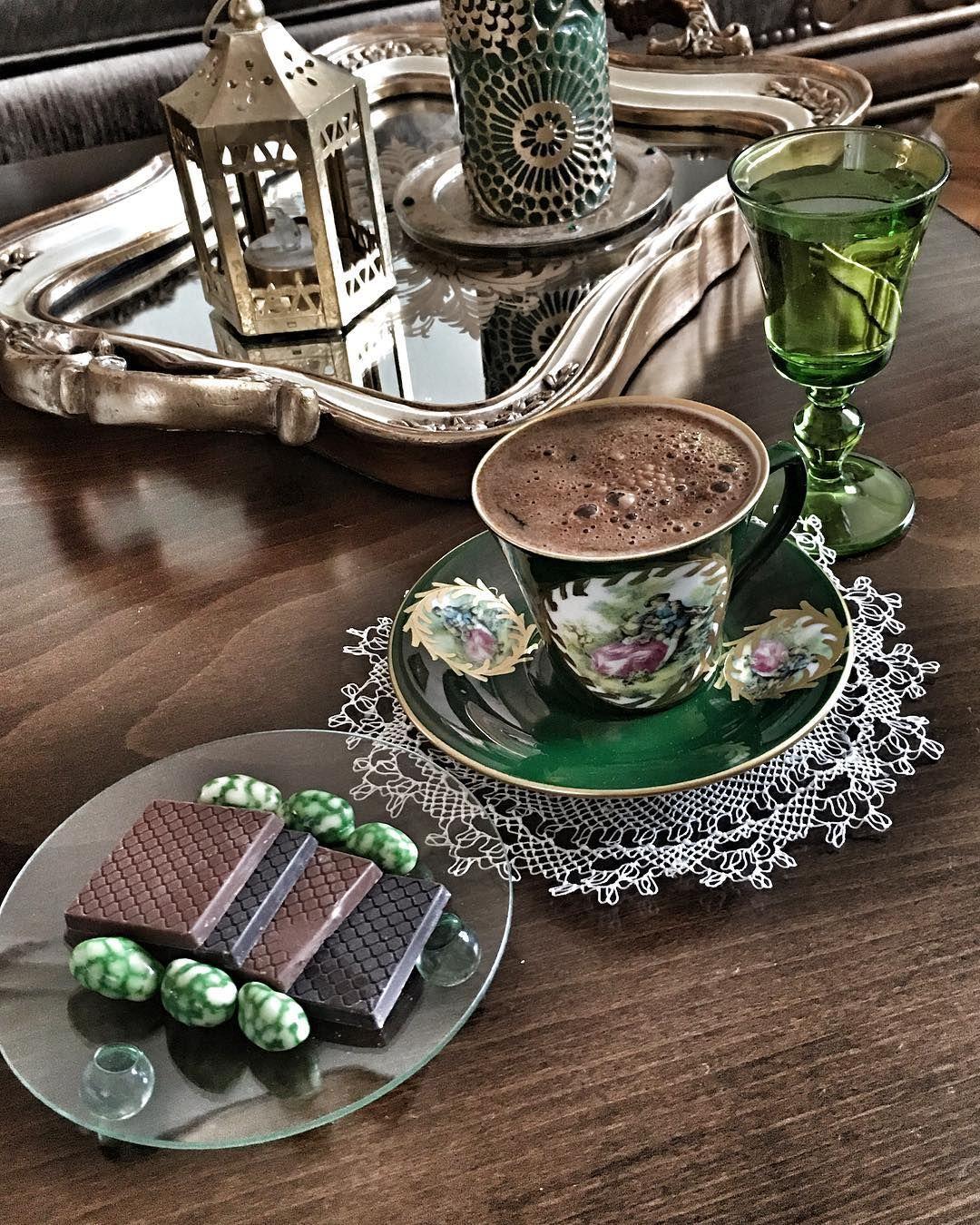 Turkish coffee ♥☕ türkkahvesi turkishcoffeeservice