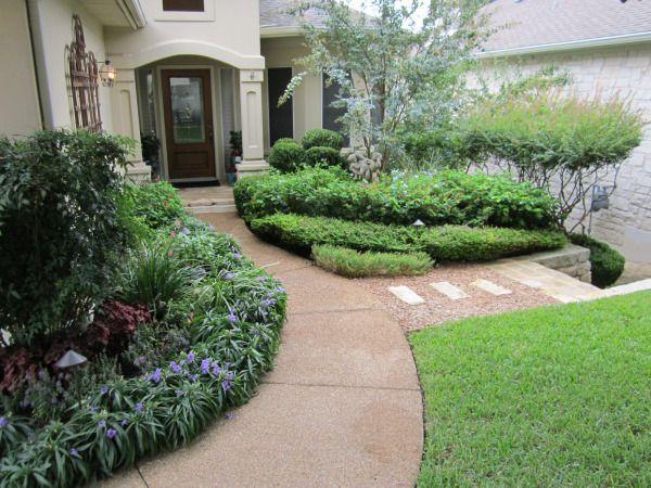 The Crown Jewel Landscape Design Garden Design Front Flower Beds
