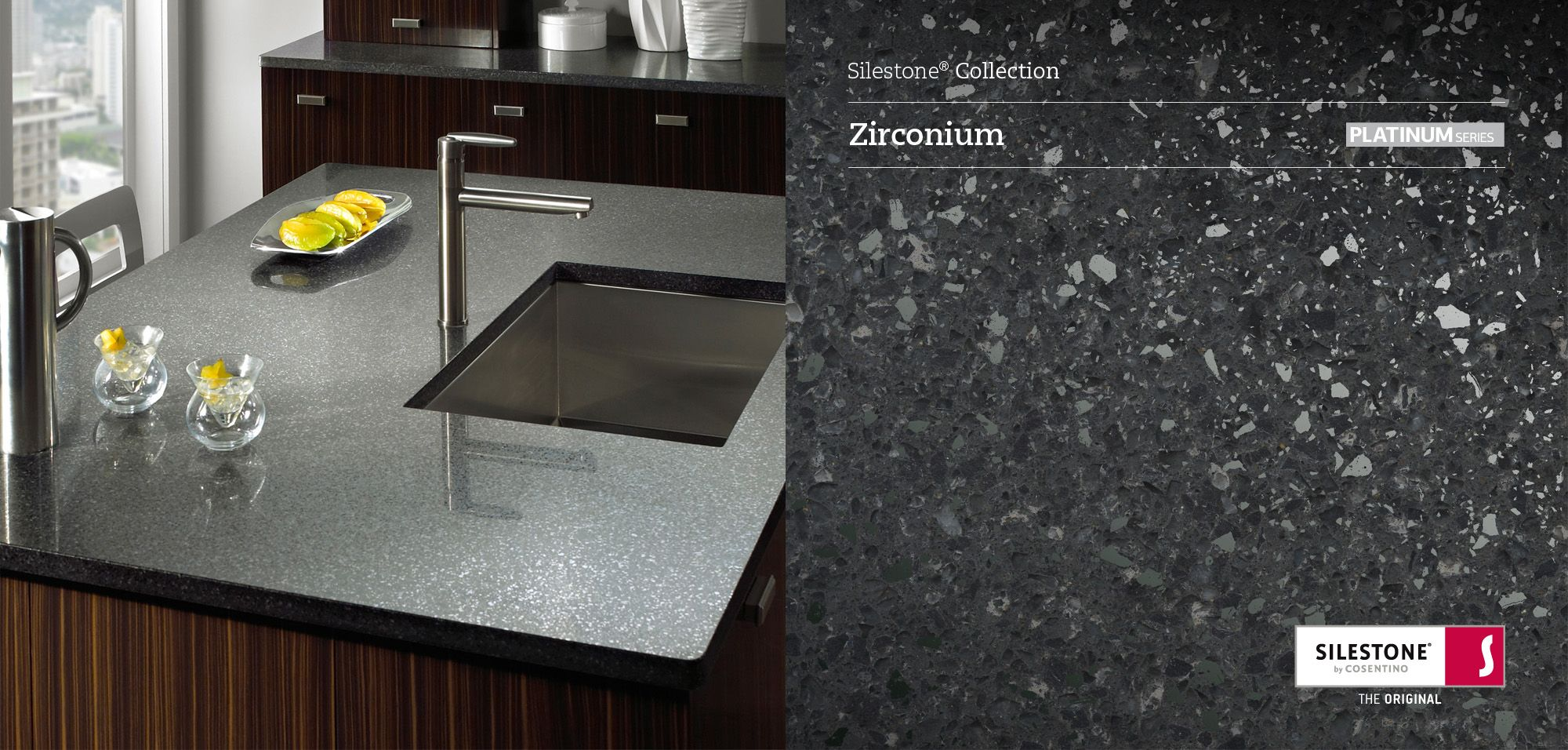 Silestone Zirconium | Silestone Collection | Pinterest | Encimeras ...