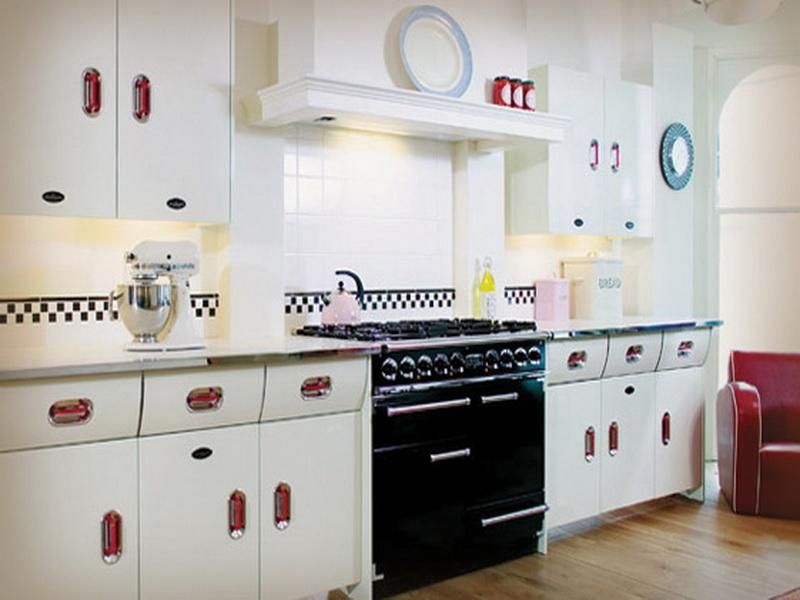 Kitchen Design Vintage Style 1950s inspired kitchen | related post from vintage style of 1950s