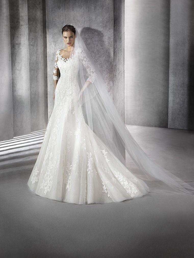 vestido de novia modelo zuriel | st. patrick 2016 | pronovias