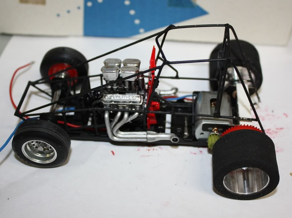 1/24 Scale Sprint Car - Slot Car Illustrated Forum