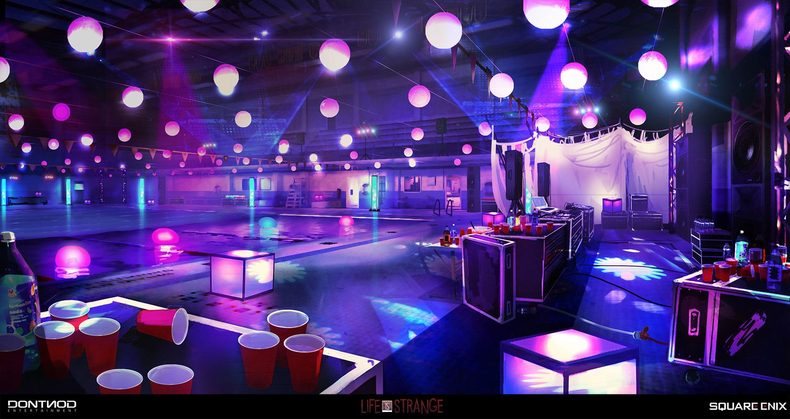 Pool Party vortex club - Life Is Strange, Gary jamroz-palma