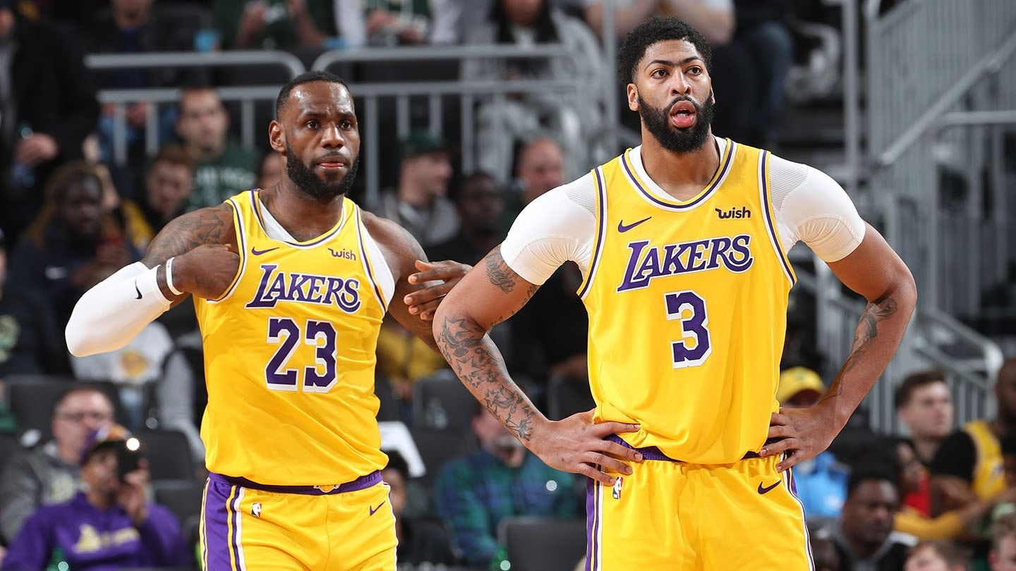 LeBron James, Anthony Davis Both Questionable To Play On ...