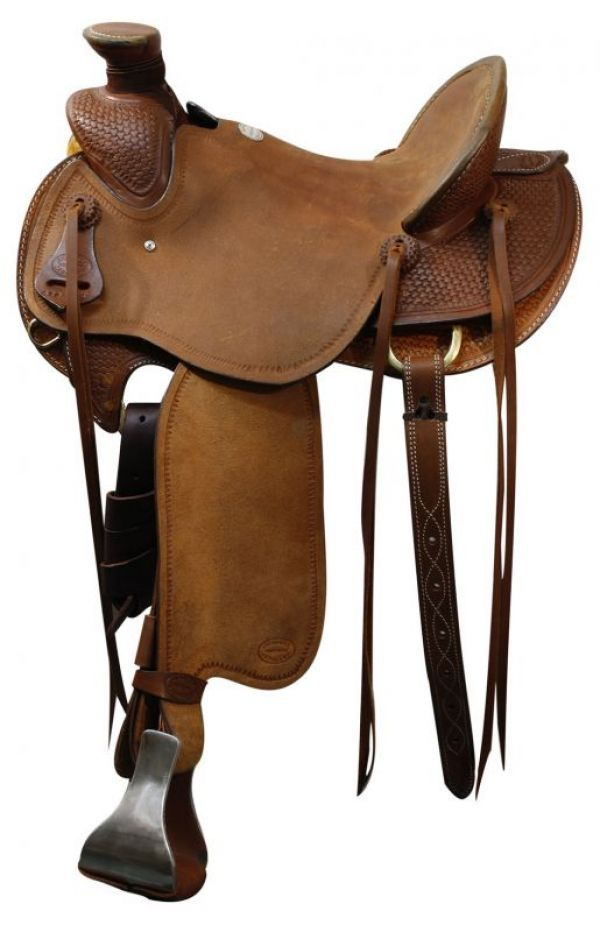 Western Saddle Wade ~deal $899~ Roughout + Tooled New Warranty