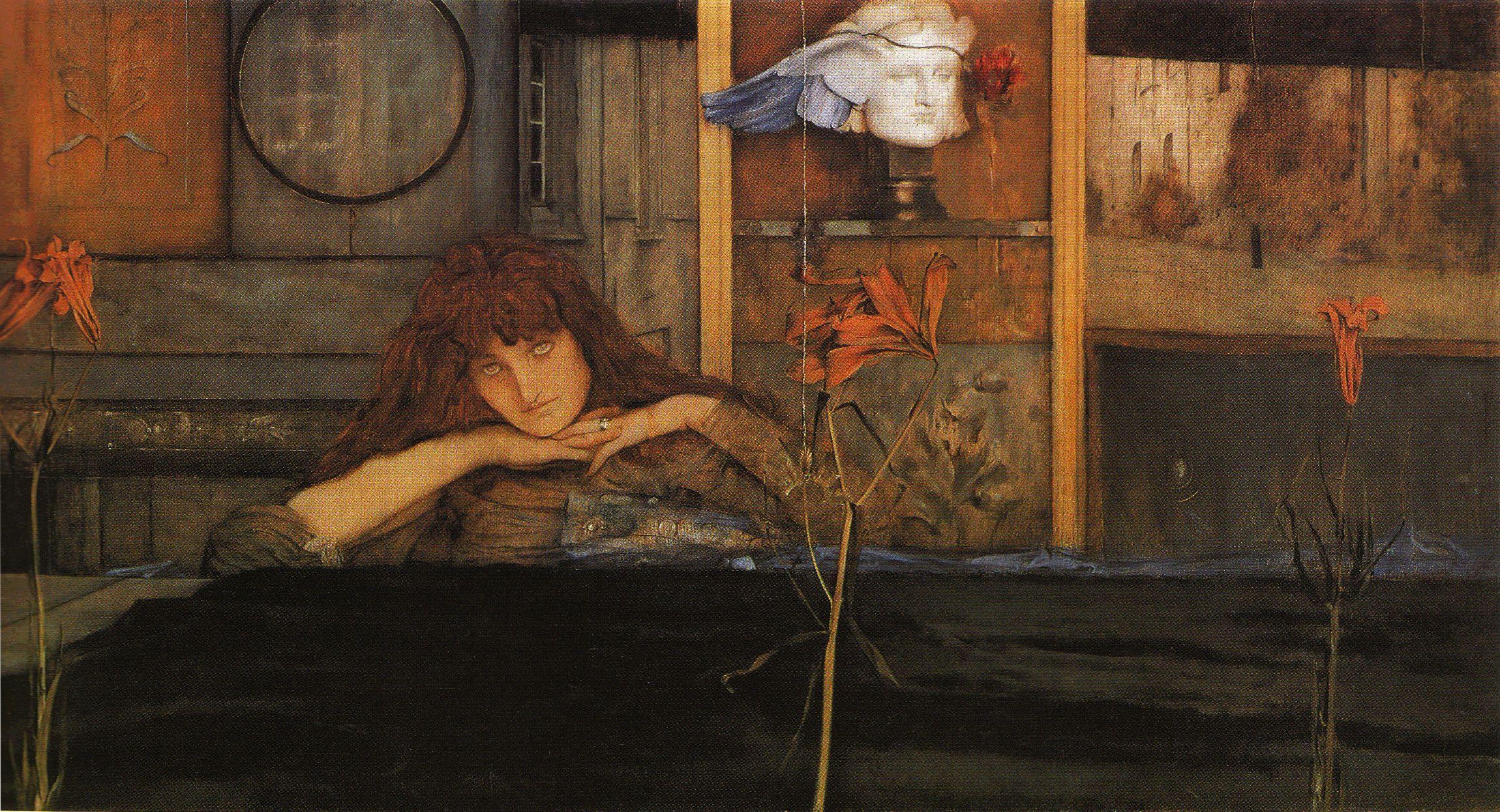 Fernand Khnopff, I lock my door upon myself, 1891
