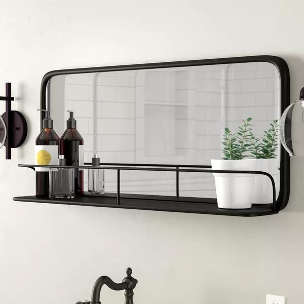 Peetz Accent Mirror With Shelves In 2020 Badezimmer Dekor
